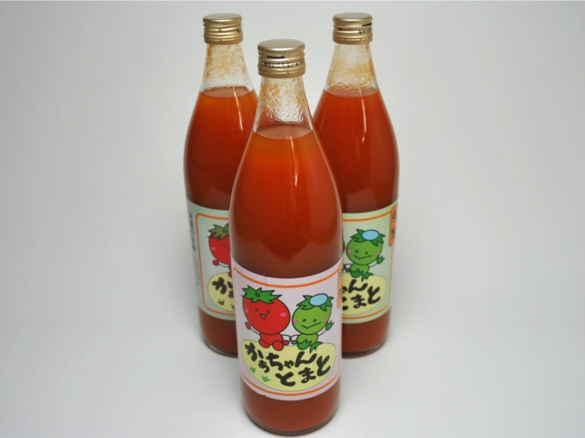かあちゃんトマト(900ml×3本セット)商品写真